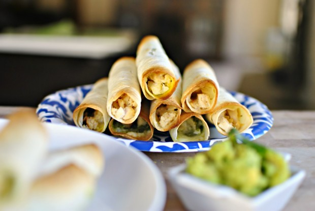 ... and cilantro pesto cheese flautas with cilantro pesto recipes dishmaps