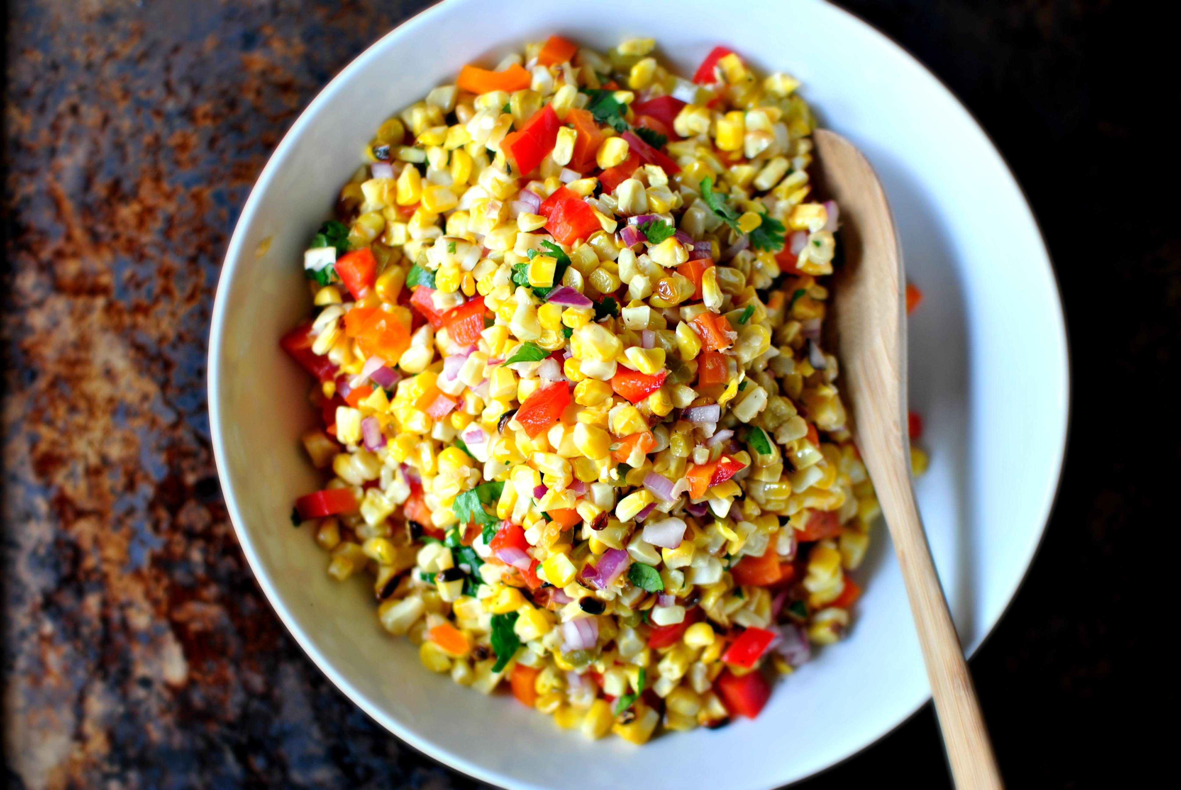 picture Charred Corn Salsa