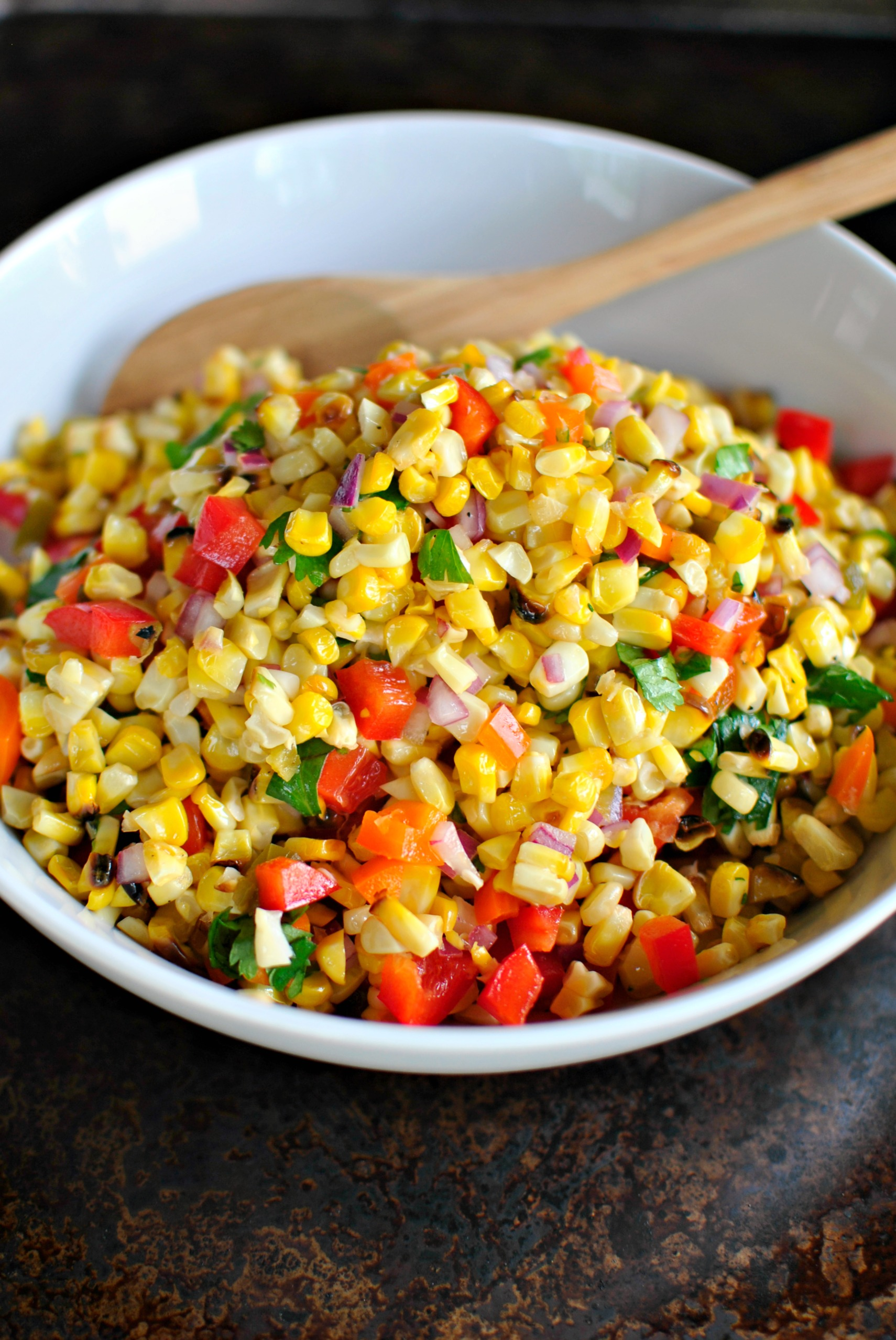 Simply Scratch » Grilled Sweet Corn Salsa