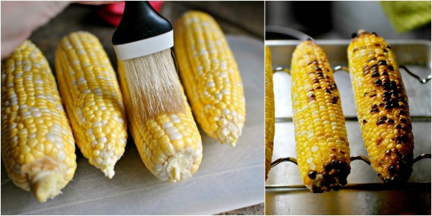 corn collage