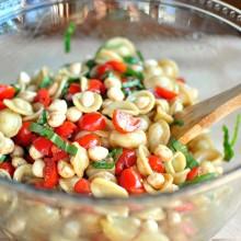 Caprese Pasta Salad  www.SimplyScratch.com