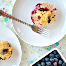 Homemade Blueberry Muffins ll www.SimplyScratch.com