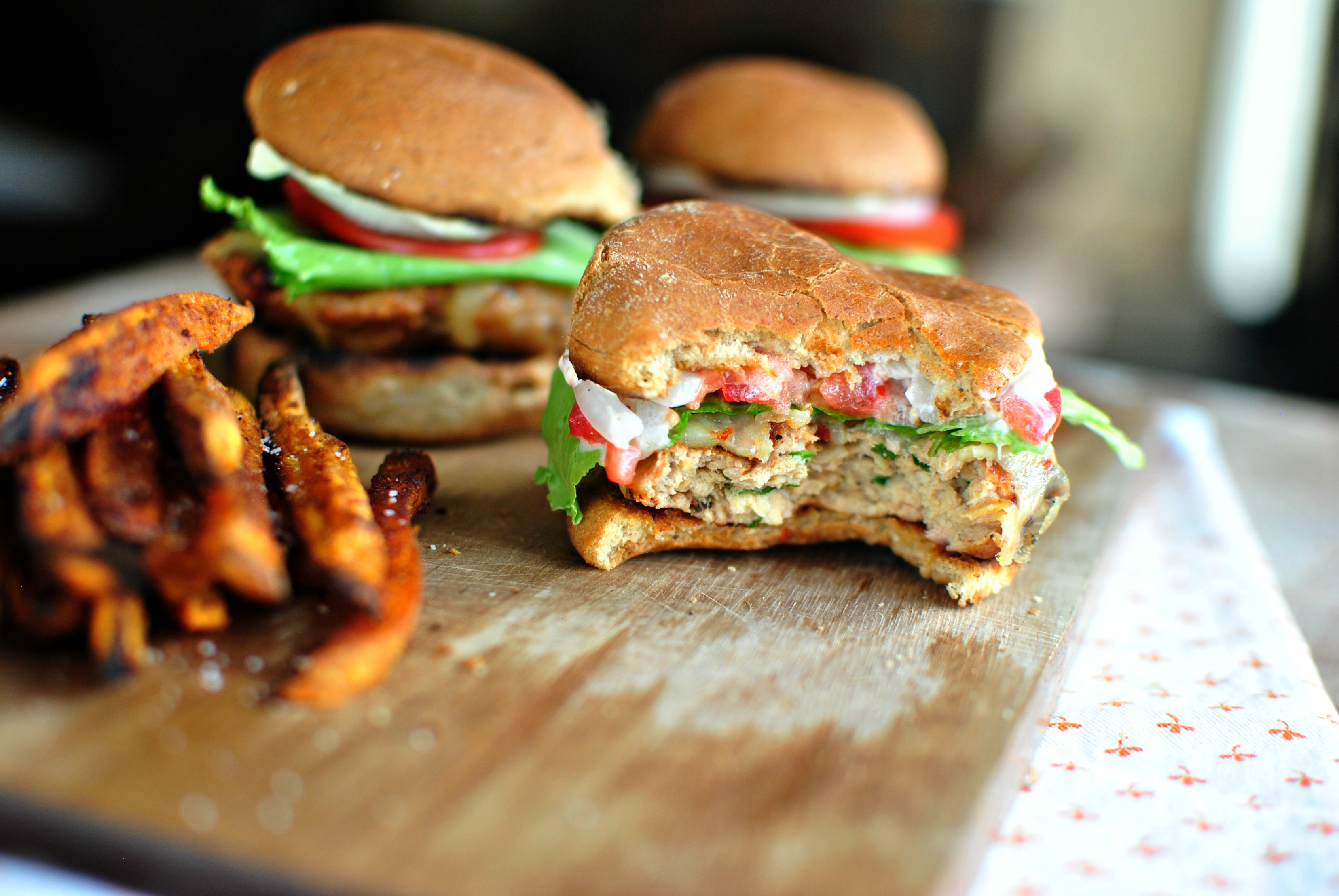 Simply Scratch » White Cheddar Chipotle Chicken Sliders