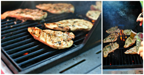 grill and baste