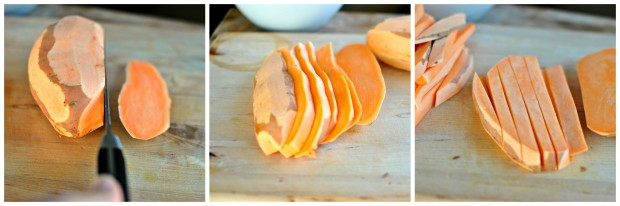 sweet potato collage