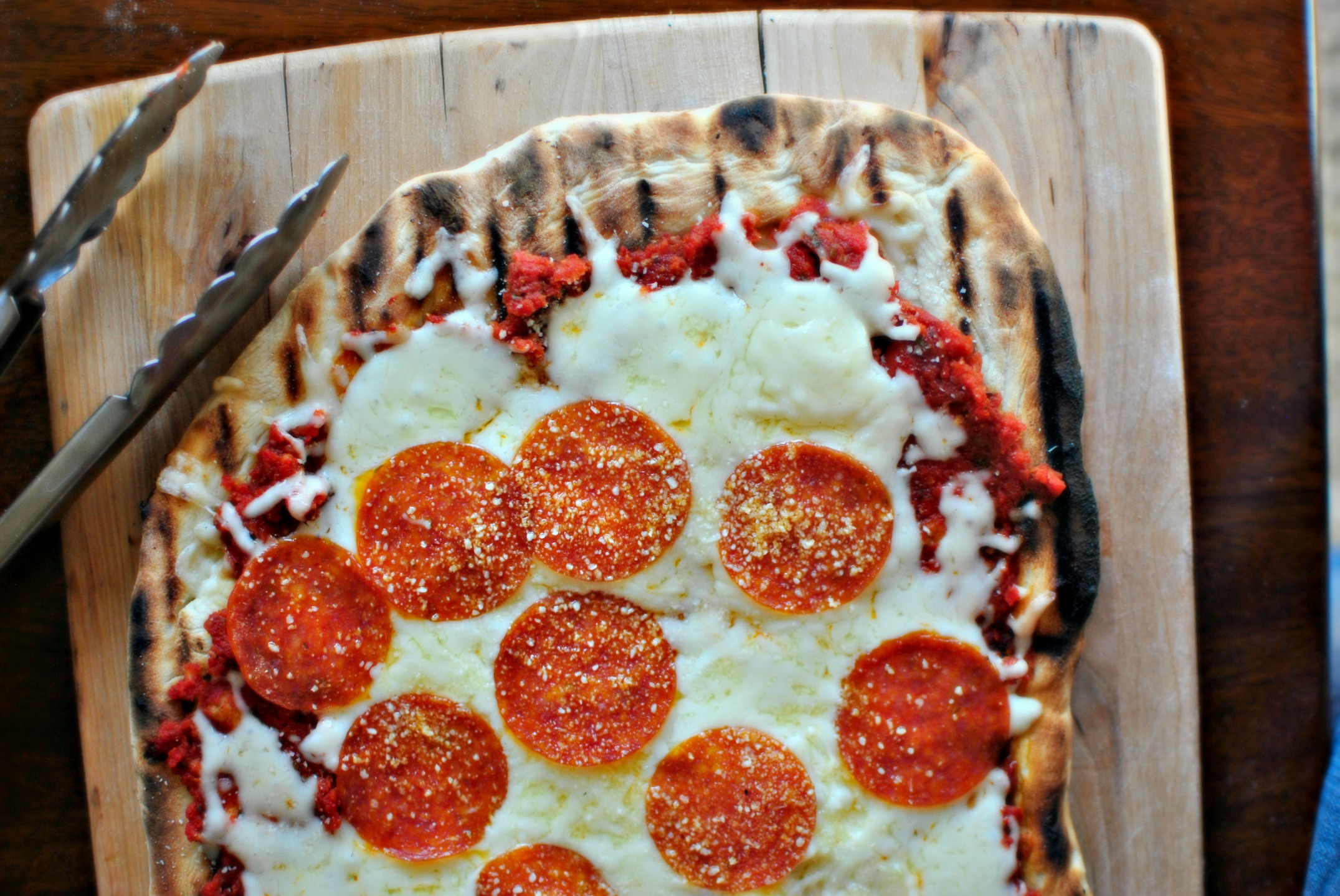 simply scratch homemade pizza dough from scratch grilled pizza