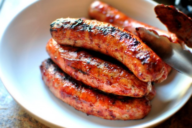 barbecued brats