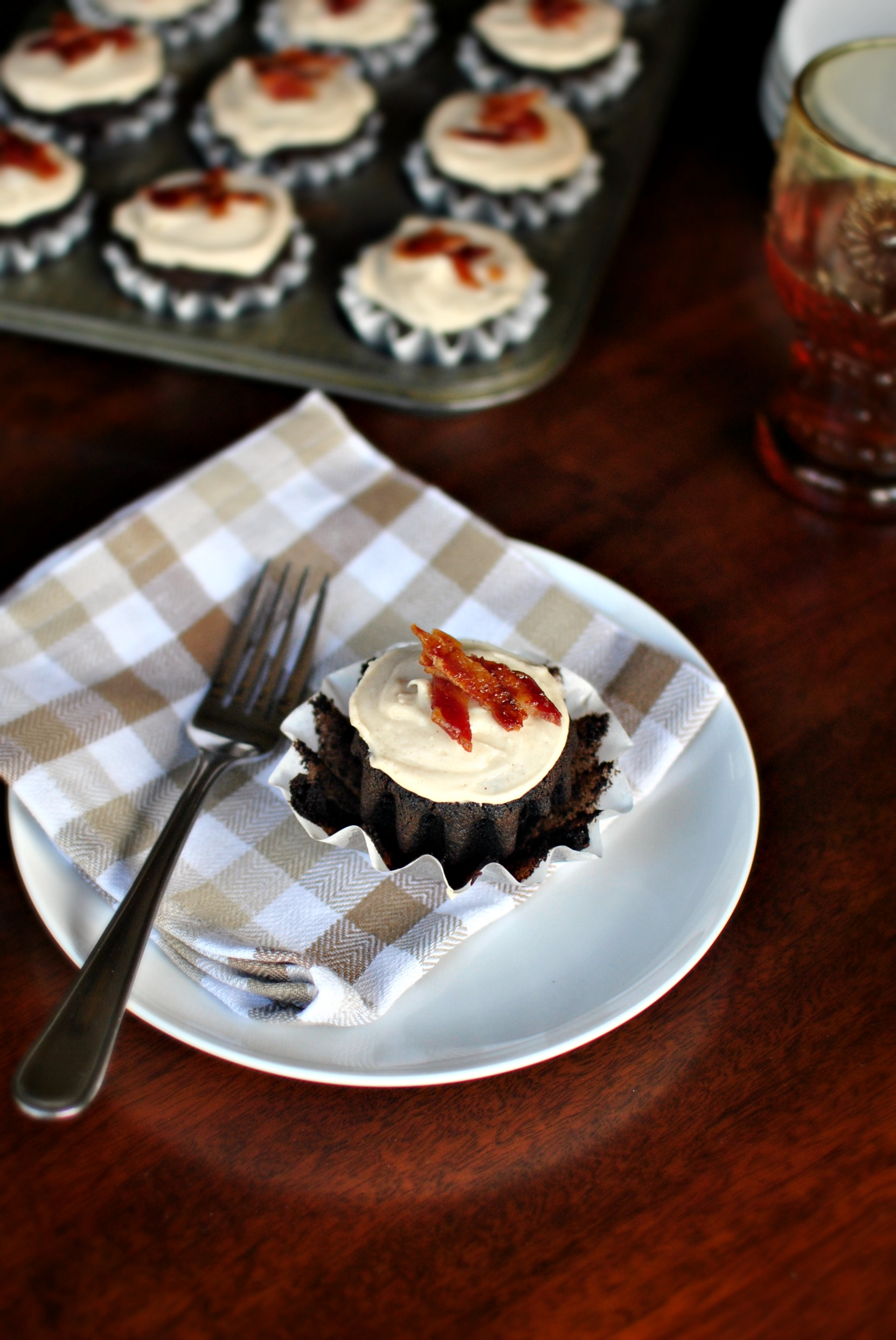 Simply Scratch » Chocolate Stout Cupcakes + Brown Butter Frosting and ...