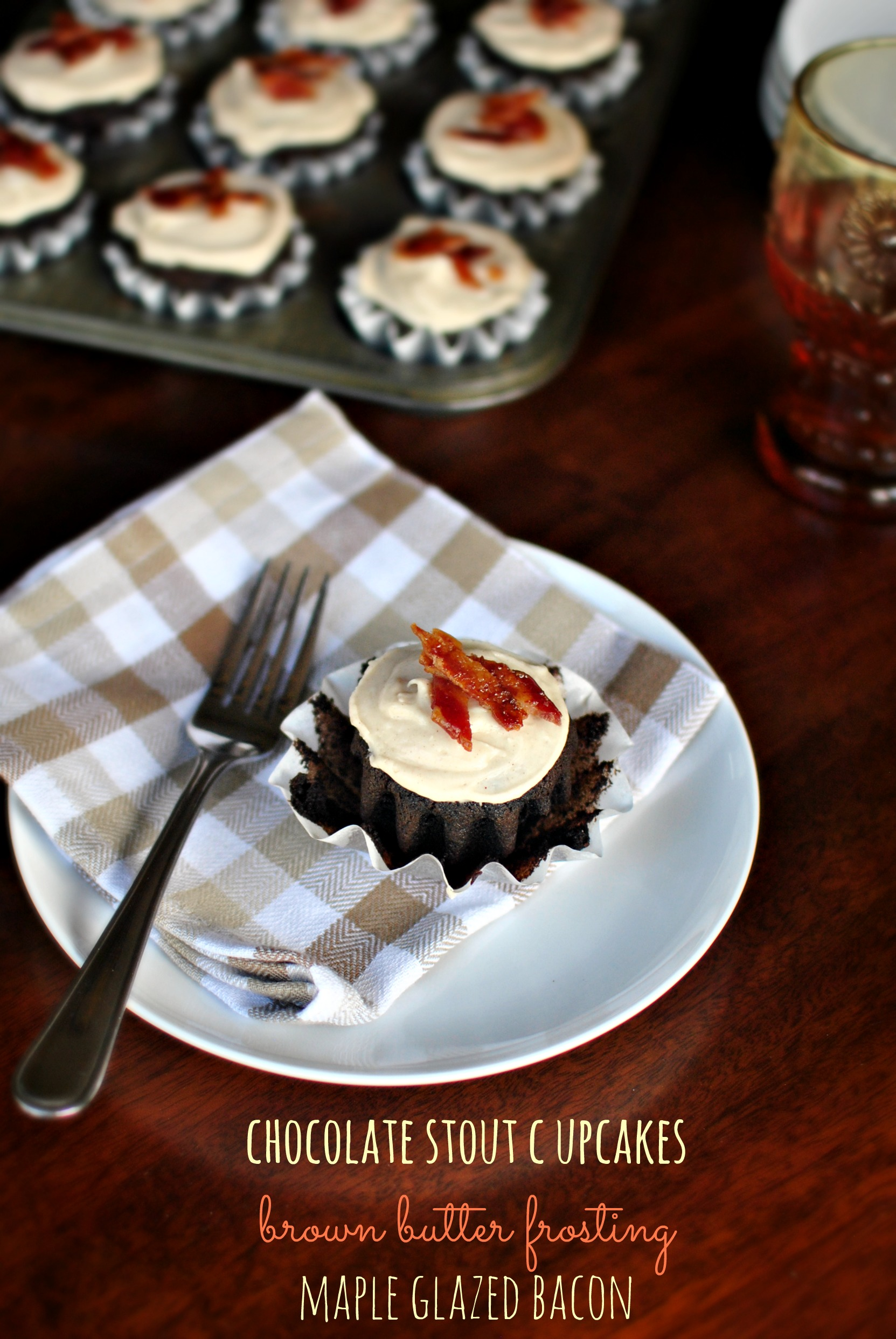 Simply Scratch Chocolate Stout Cupcakes + Brown Butter Frosting ...