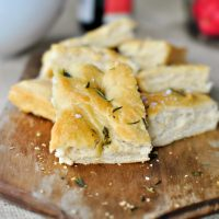 Rosemary + Sea Salt Focaccia