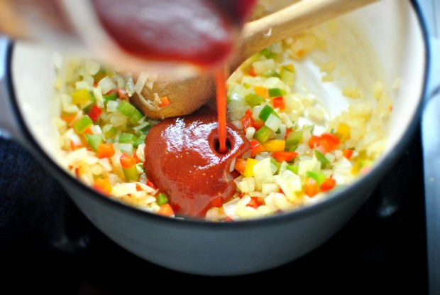 add sauce