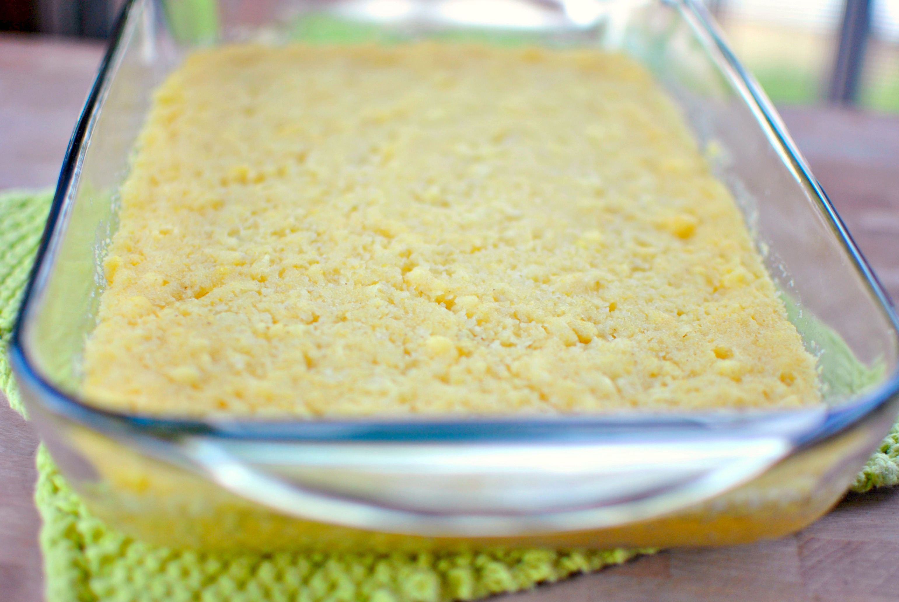 Simply Scratch Mexican Sweet Corn Cake - Simply Scratch