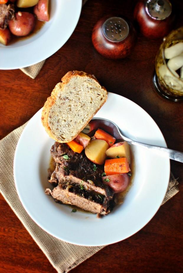 Beef Pot Roast l SimplyScratch.com