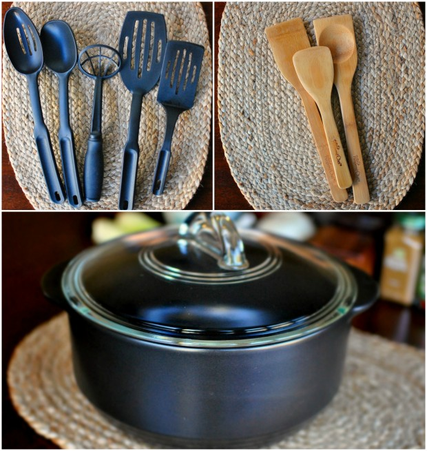 Pampered Chef loot collage