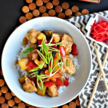 Sweet and Sour Chicken l www.SimplyScratch.com