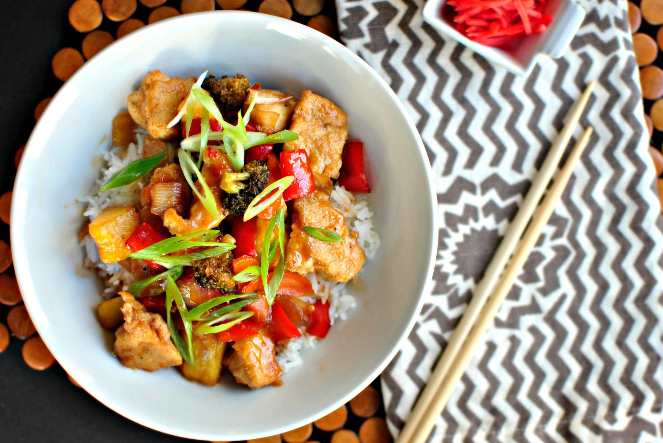 Recipes spicy chicken stir fry