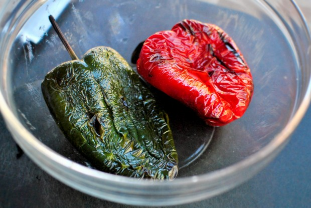 peppers steamed