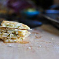 3 Cheese Quesadillas