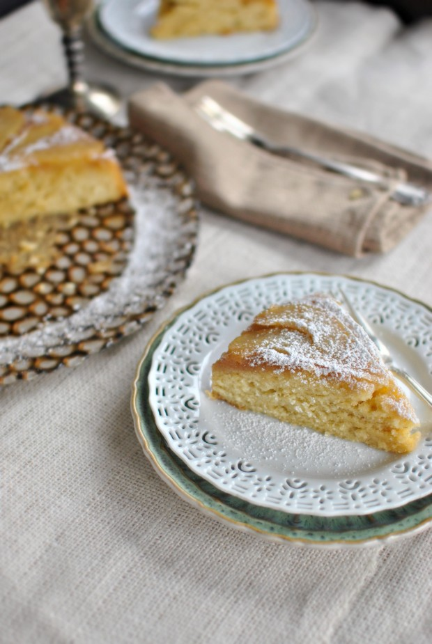 Real Simple Pear Upside Down Cake