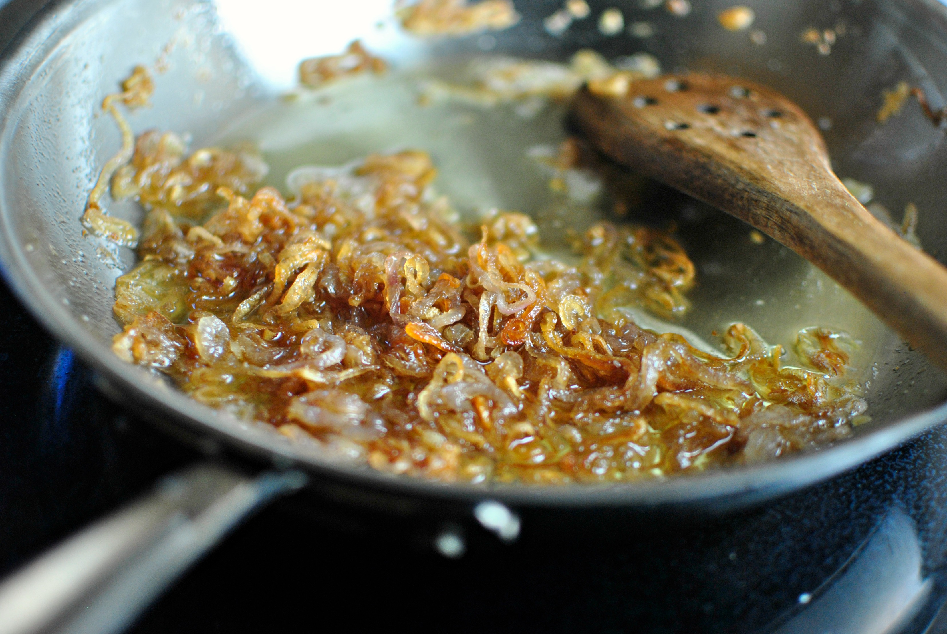 ... Scratch » Homemade Green Bean Casserole with Crispy Fried Shallots