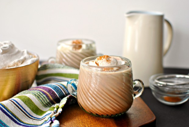 Scratch Mexican Spiced Hot Chocolate + Homemade Cinnamon Whipped Cream ...