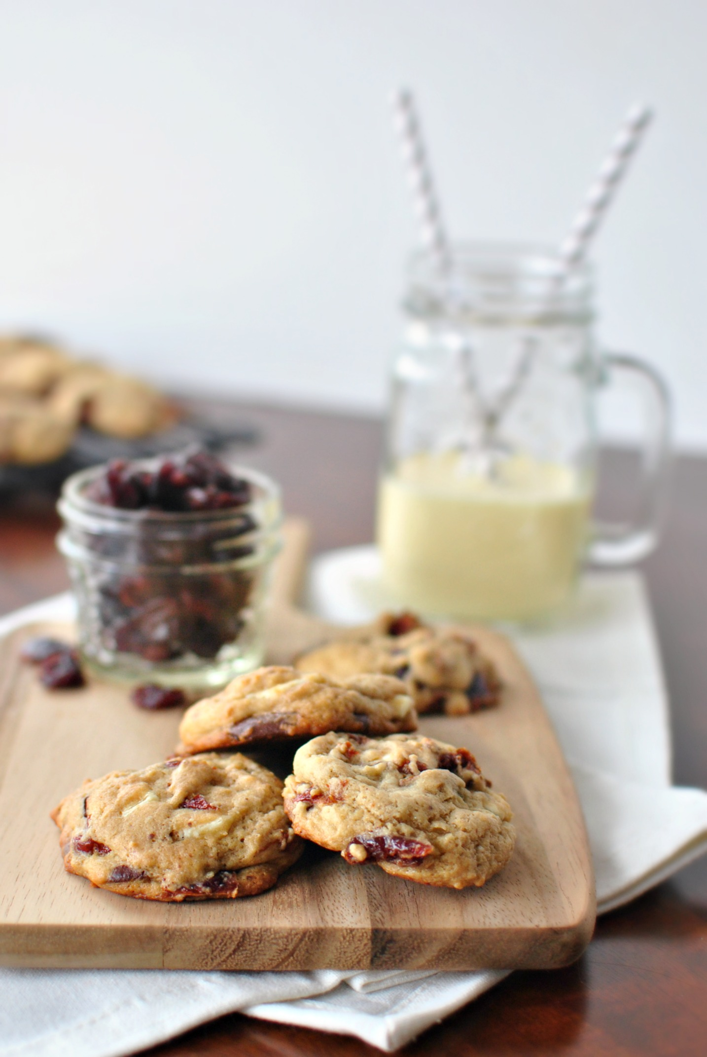 ... Scratch Rum Cherry Double Chocolate Chunk Cookies - Simply Scratch