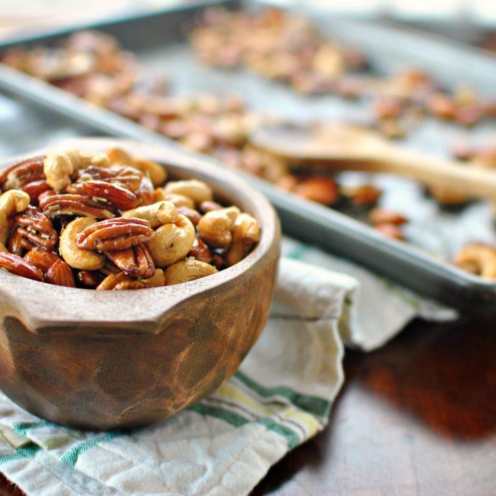 Rosemary Mixed Nuts