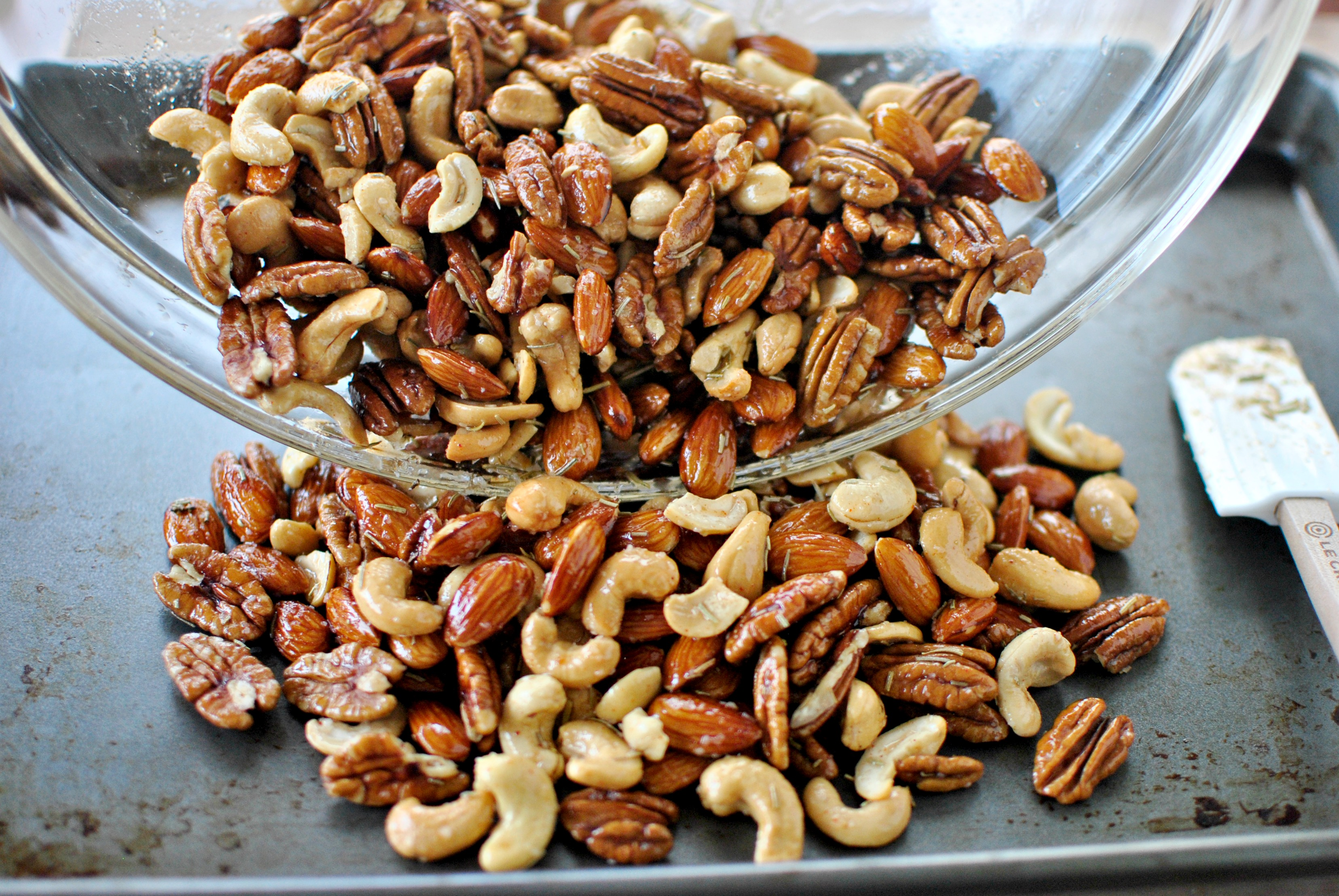 Simply Scratch Toasted Rosemary Mixed Nuts Simply Scratch