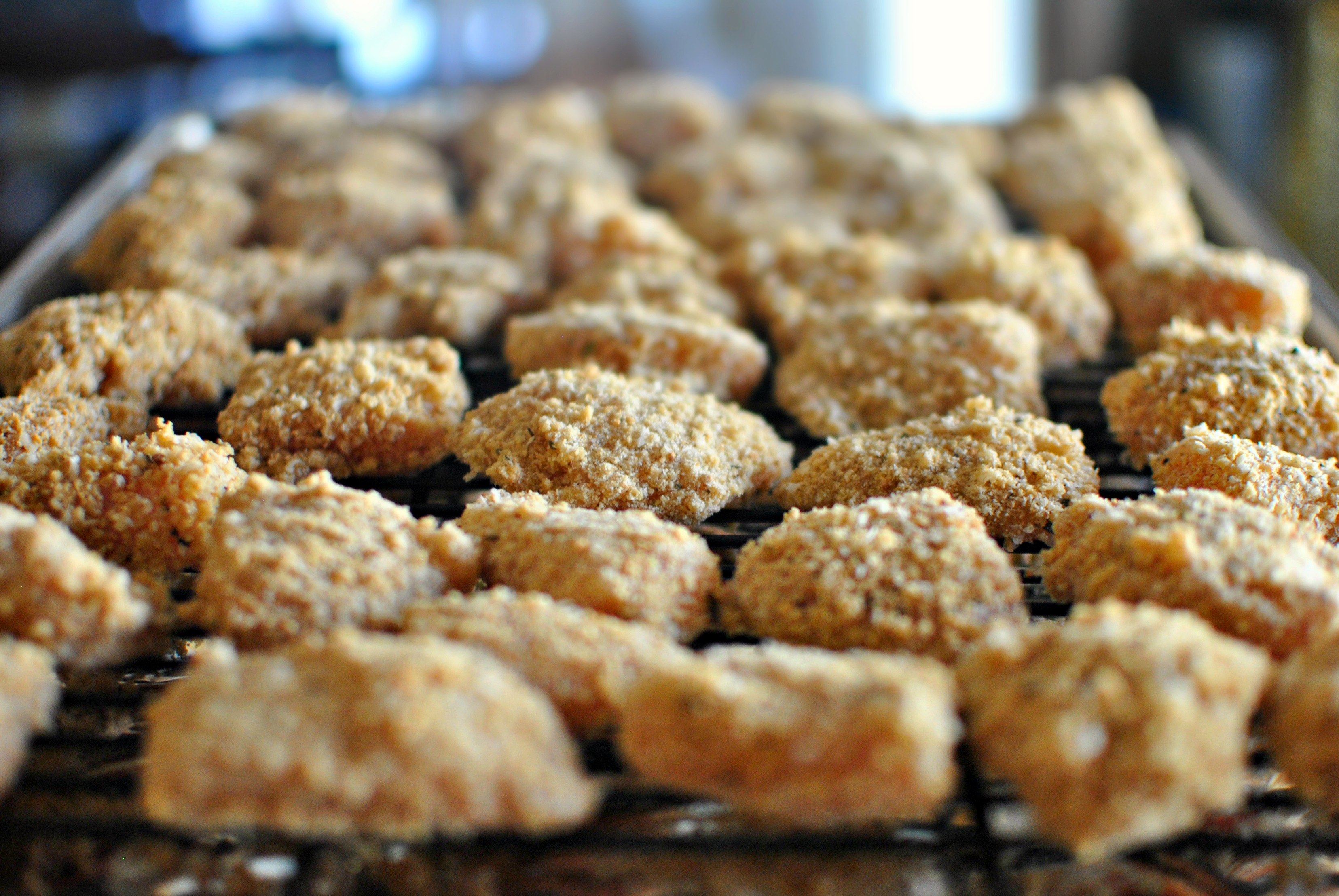 Baked Whole Wheat Chicken Nuggets Simple Sweet And Sour Sauce