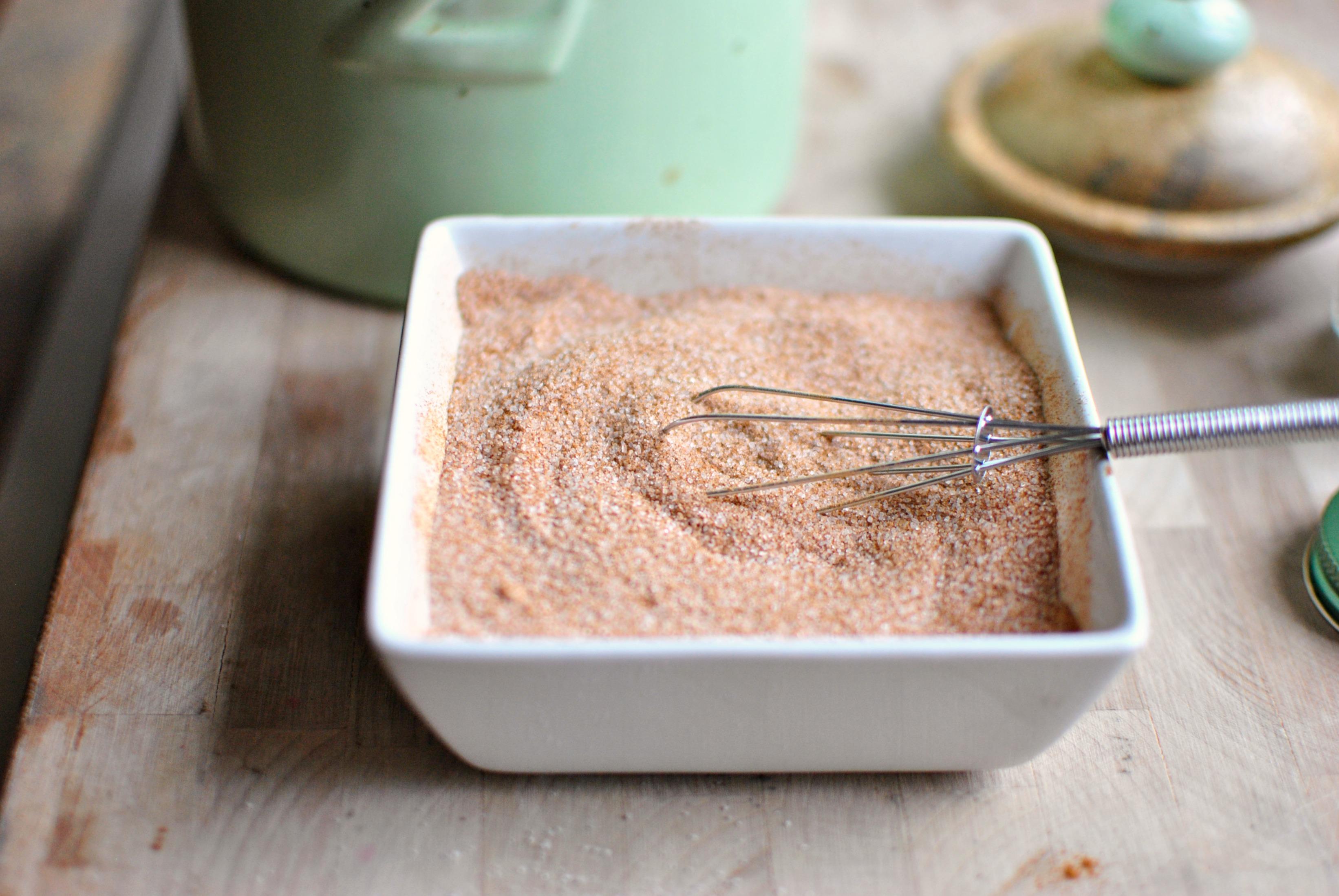 Simply Scratch Cinnamon Sugar Crusted French Toast ...
