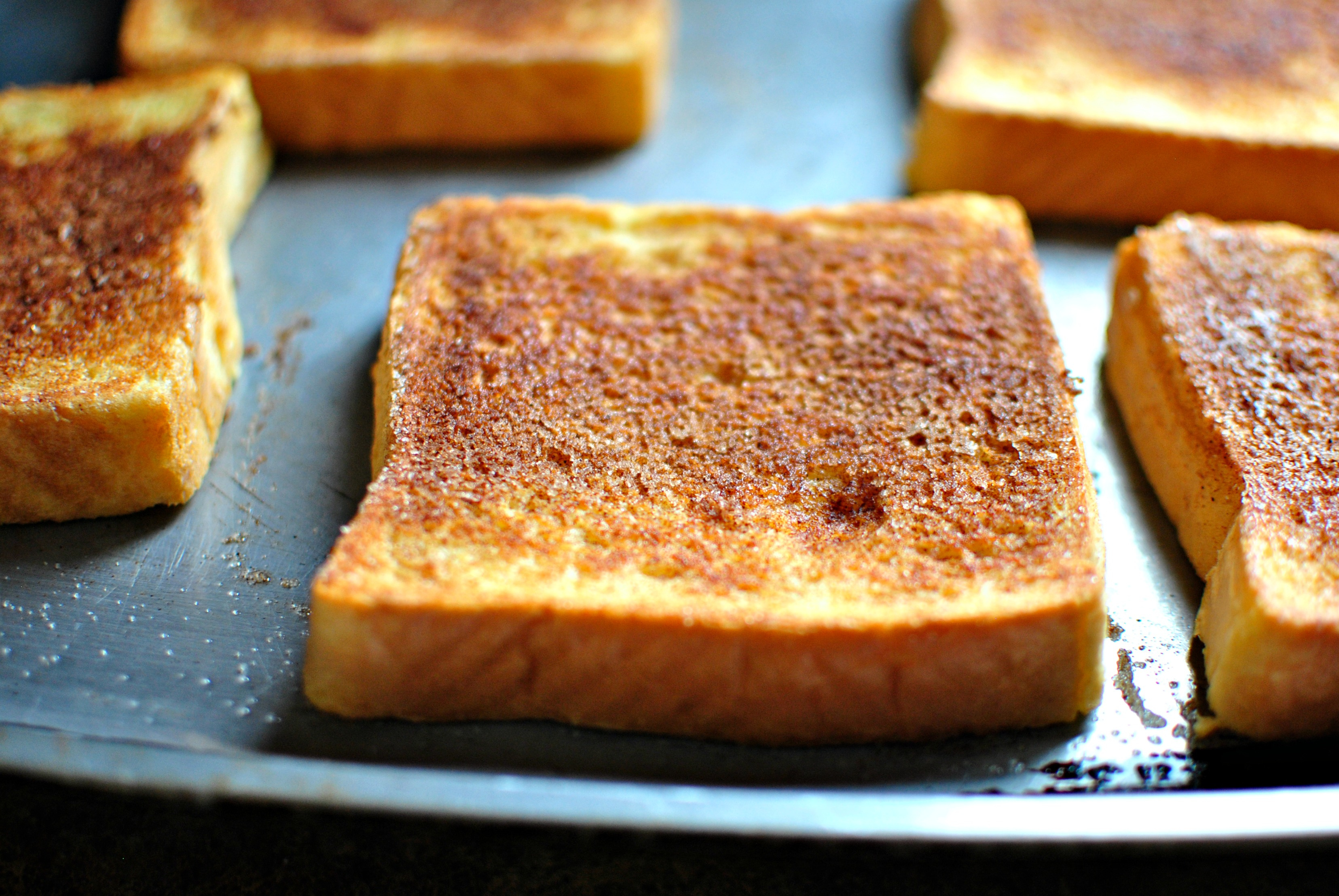Simply Scratch Cinnamon Sugar Crusted French Toast Simply Scratch