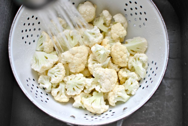 Creamy Whipped Cauliflower Mash - rinse
