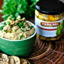 Grilled Artichoke Hummus l www.SimplyScratch.com #dip #hummus #healthy