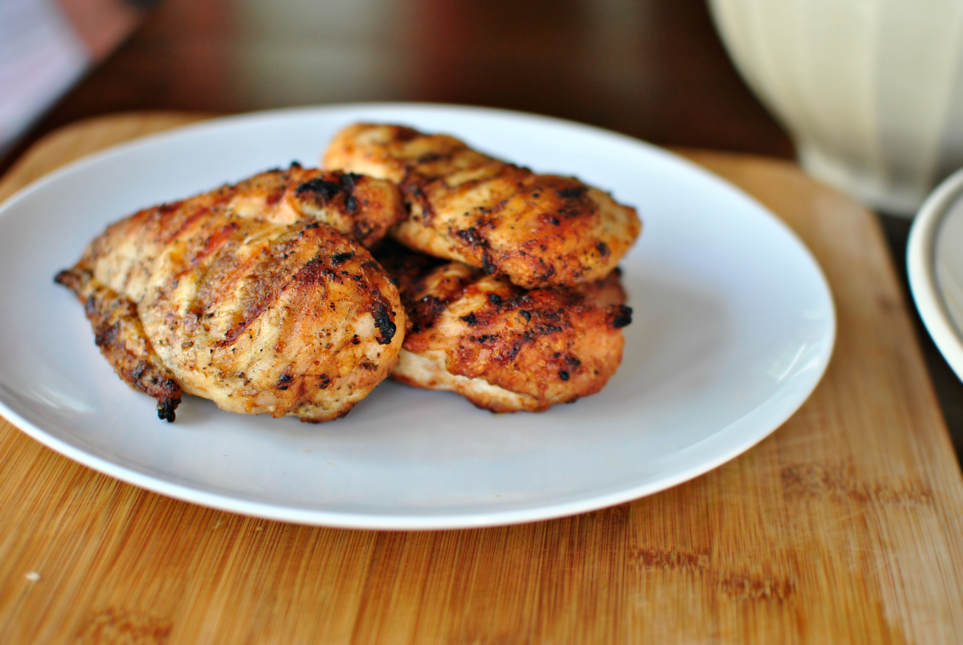 garlic chicken balsamic glazed grilled juicy chicken that s marinated ...