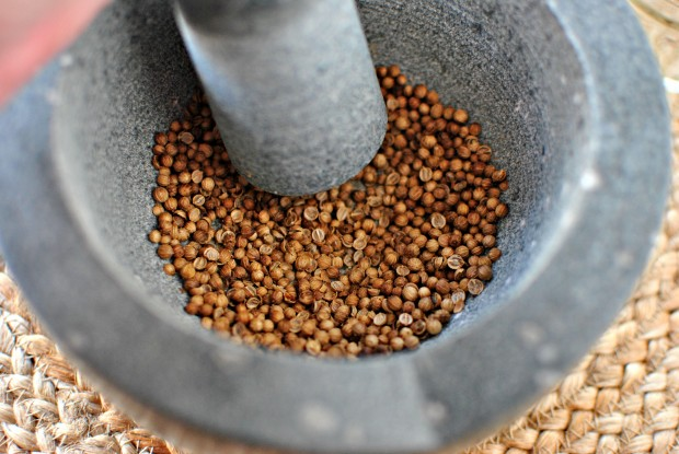 How To Toast and Grind Your Own Spices - start pulverizing