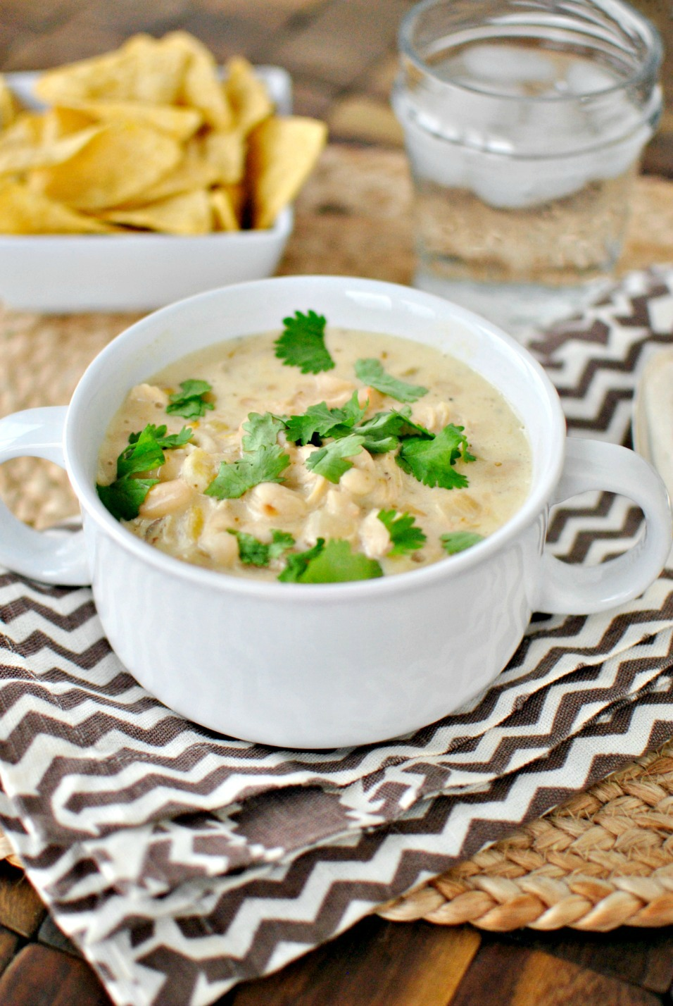 Simply Scratch Creamy White Chicken Chili - Simply Scratch