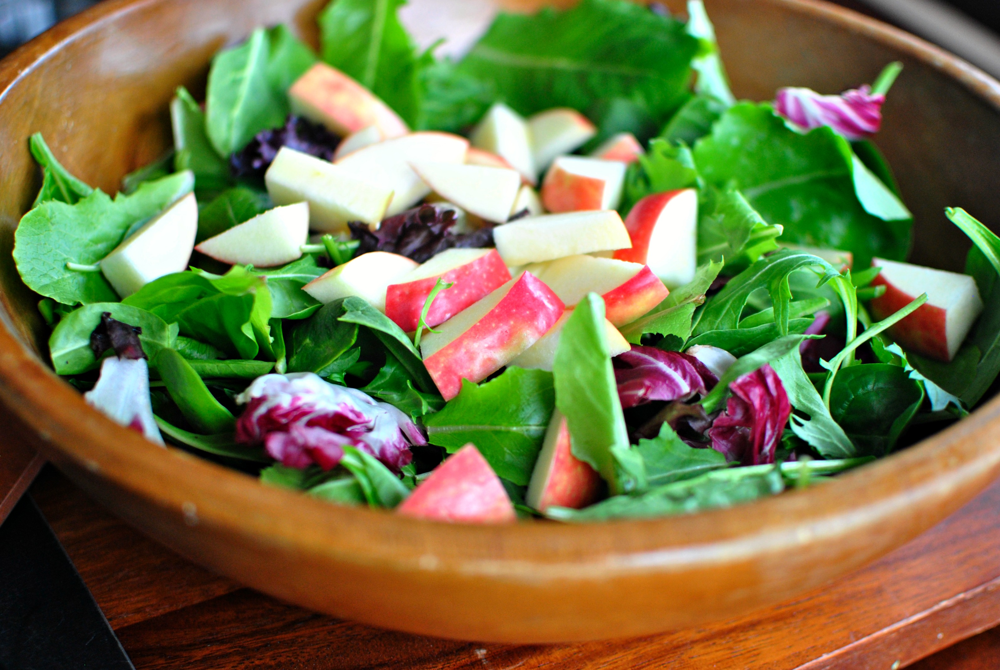 Simply Scratch Apple Cherry And Candied Walnut Salad With