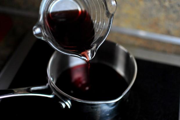 half cup of cherry juice
