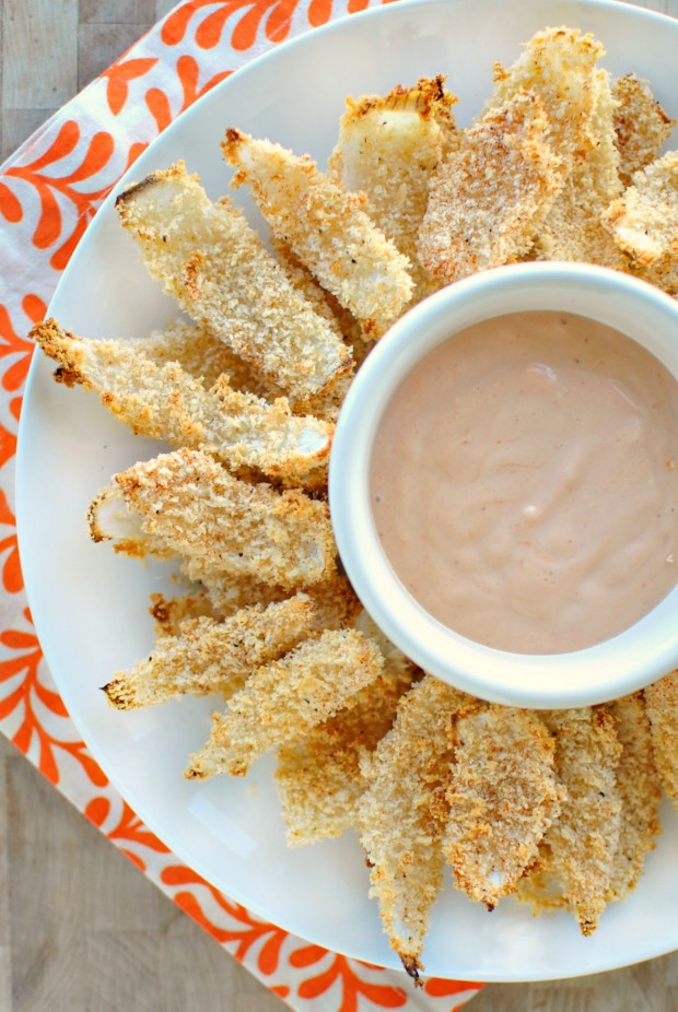 Baked Onion Petals via www.SimplyScratch.com