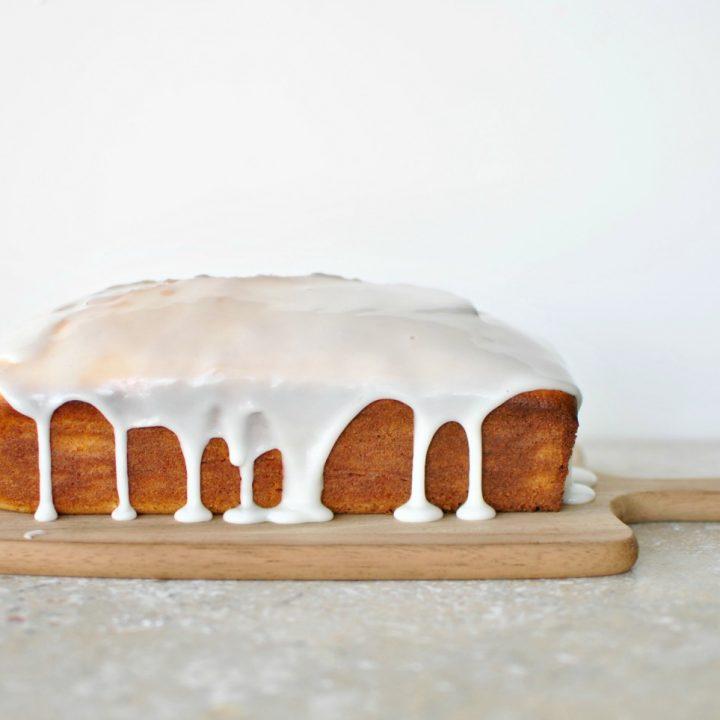 Meyer Lemon  Ricotta Cake