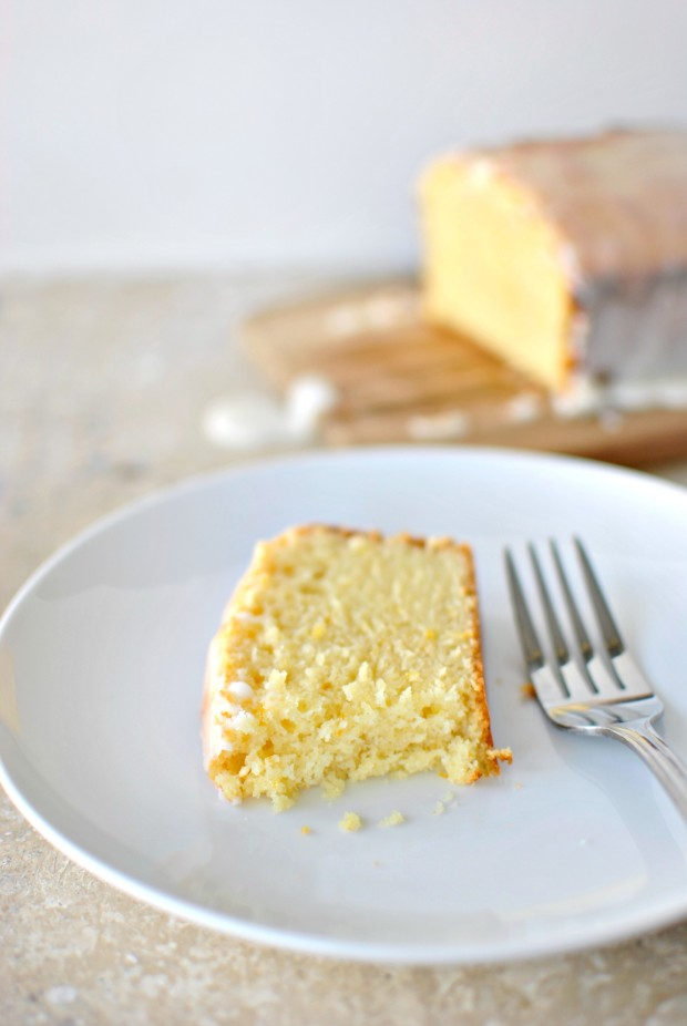 Meyer Lemon + Ricotta Cake l www.SimplyScratch.com bite