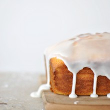Meyer Lemon + Ricotta Cake l www.SimplyScratch.com