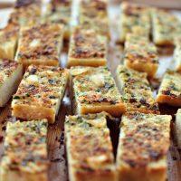 Parmesan Roasted Garlic Bread
