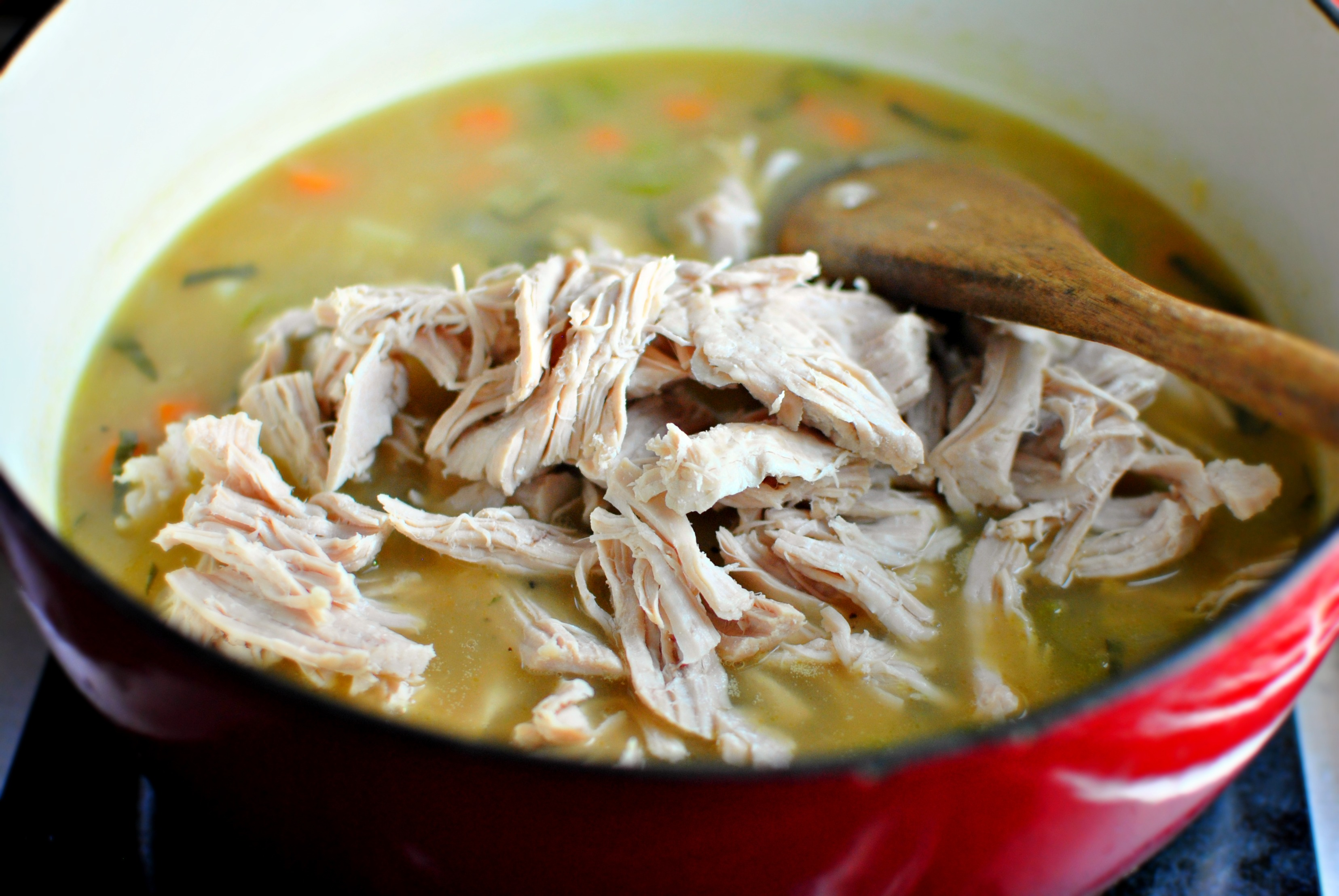 Simply Scratch » Homemade Turkey Pot Pie Soup… in 30 minutes