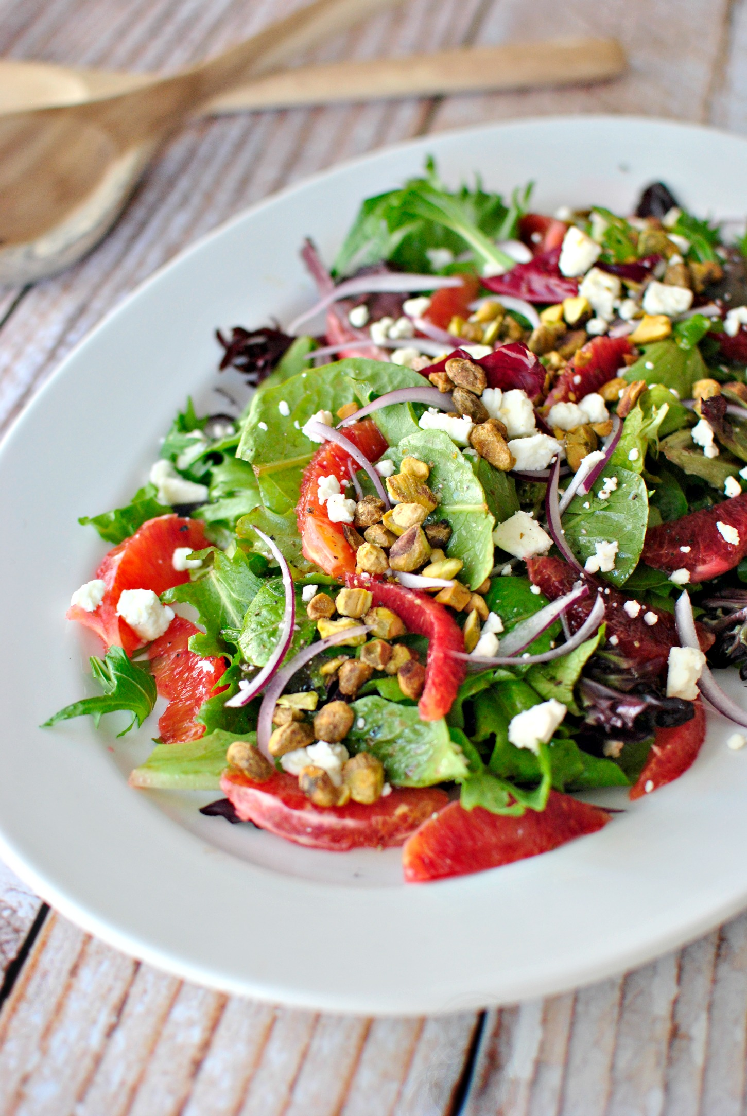 ... » Blood Orange Salad + Ginger and Cayenne Blood Orange Vinaigrette