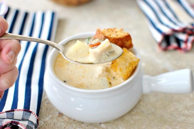 Fish Chowder I www.SimplyScratch.com #seafood