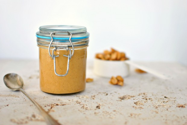 Honey Roasted Peanut Butter l www.SimplyScratch.com #recipe
