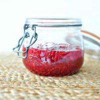Easy Skillet Raspberry Jam