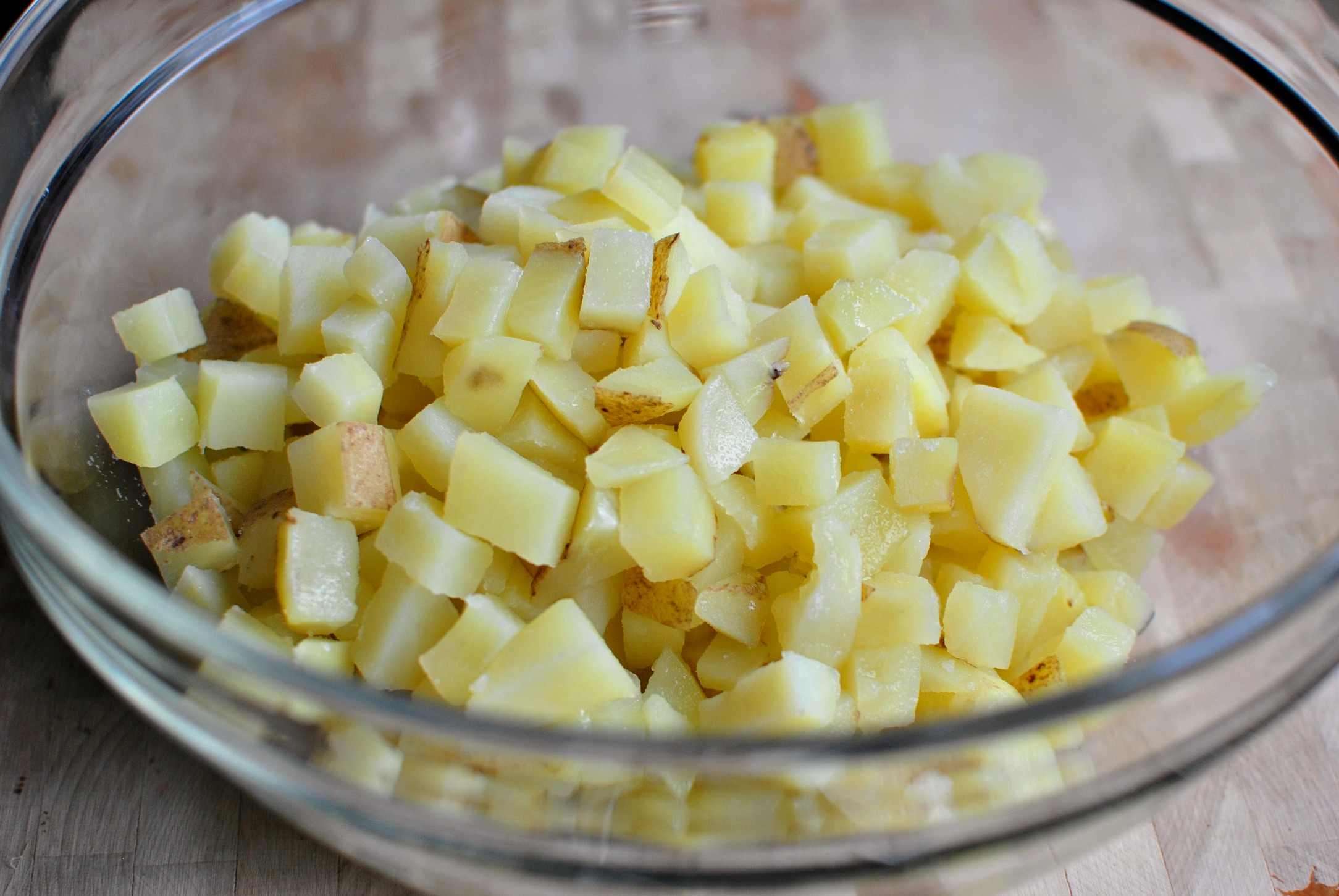 how to make cheesy potatoes from scratch