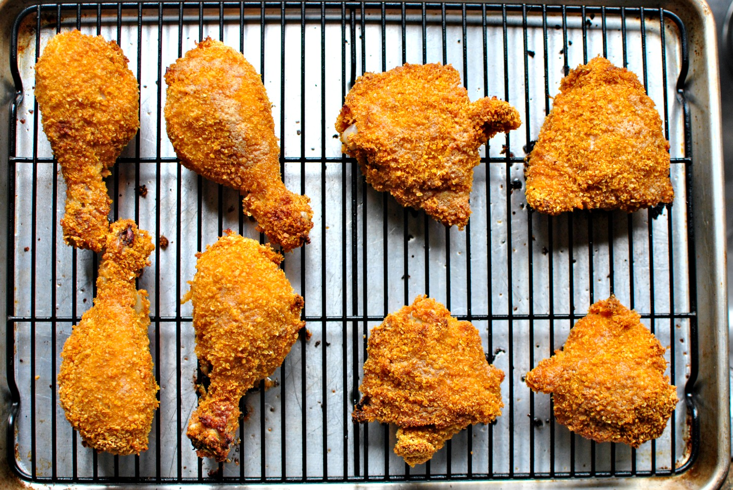 Simply Scratch Oven Fried Buttermilk Chicken - Simply Scratch